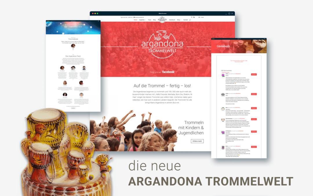 2018 – Willkommen in der neuen Argandona Trommelwelt